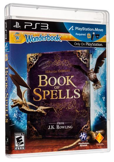 Sony PS3 Wonderbook: Book of Spells