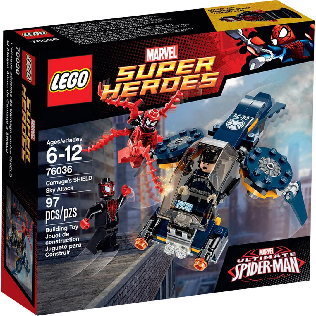 Lego Super Heroes 76036 Carnages SHIELD Sky Attack