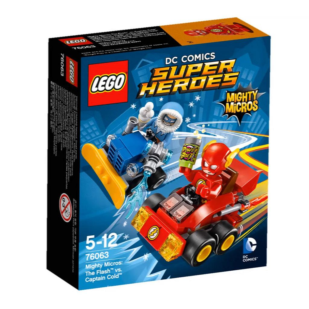 Lego Super Heroes Mighty Micros: The Flash vs. Captain Cold