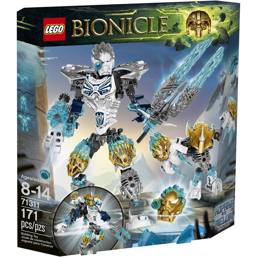 Lego Bionicle 71311 Kopaka and Melum