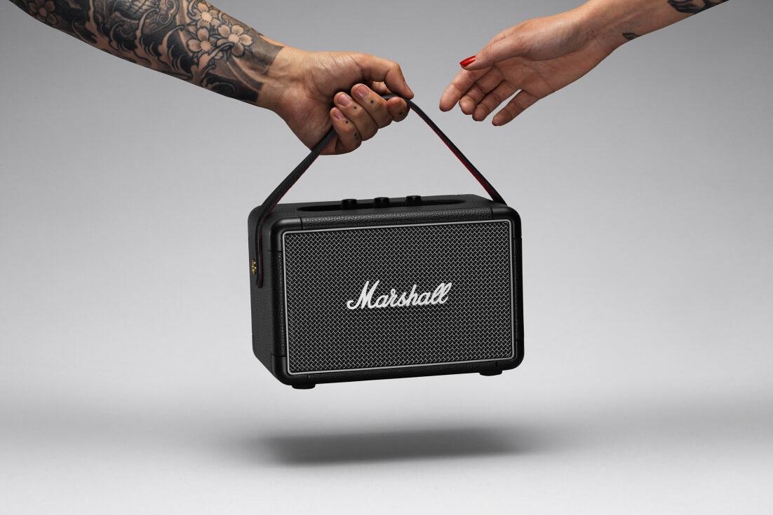 Marshall Kilburn II Bluetooth black