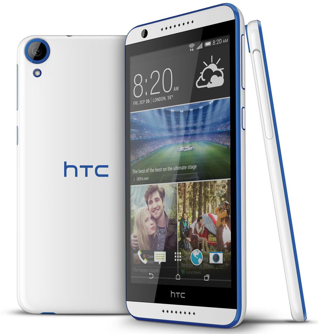 HTC D820ts Desire 820s dual sim white/blue Used (grade:C)