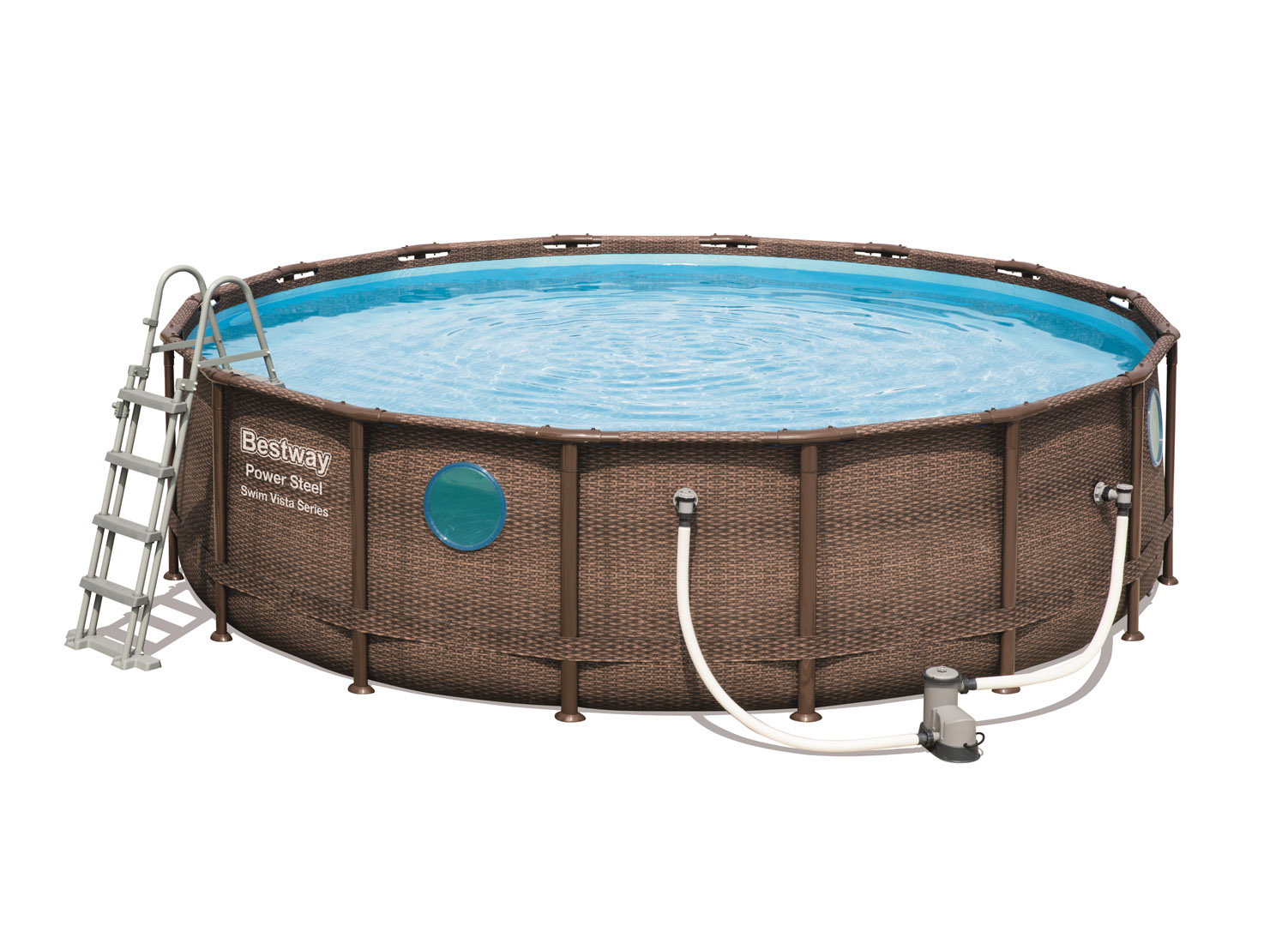 Bestway Power Steel Swim Vista Series Pool Set 56..