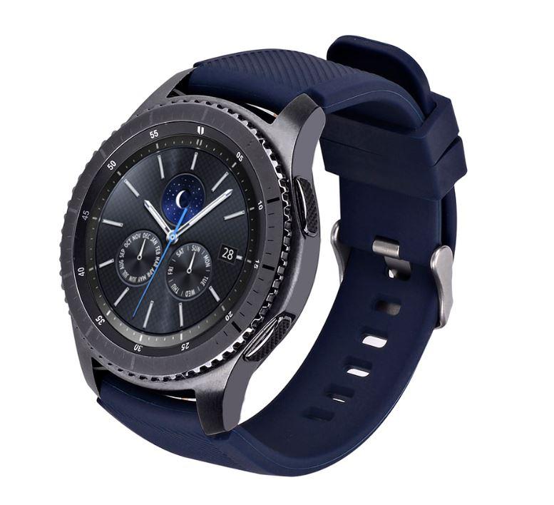 Tellur Silicone Watch Strap for Samsung Gear S3/W..