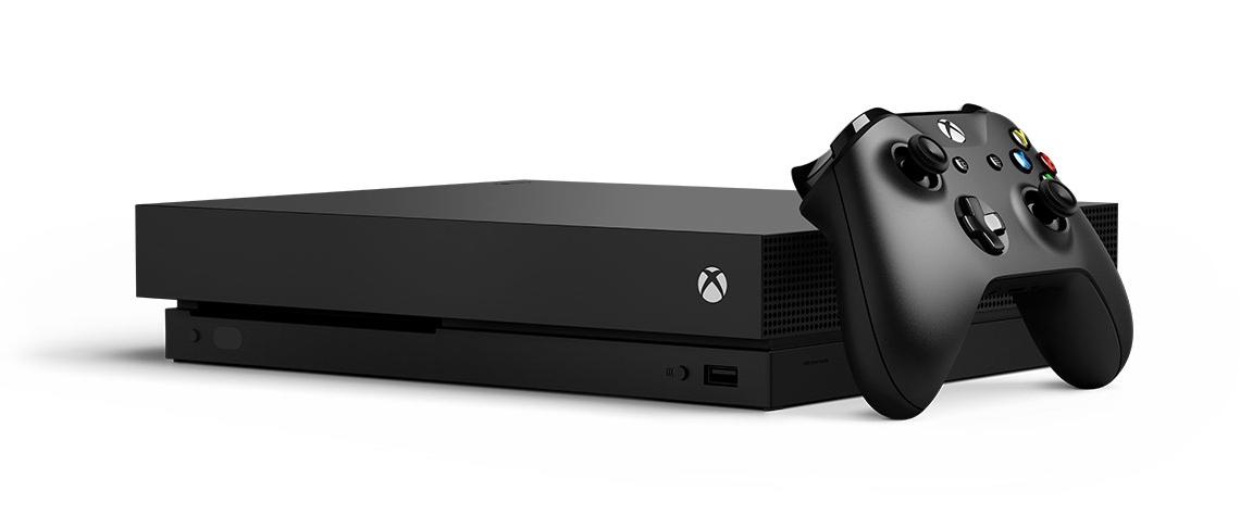 Microsoft Xbox One X 1TB black + Gears 5