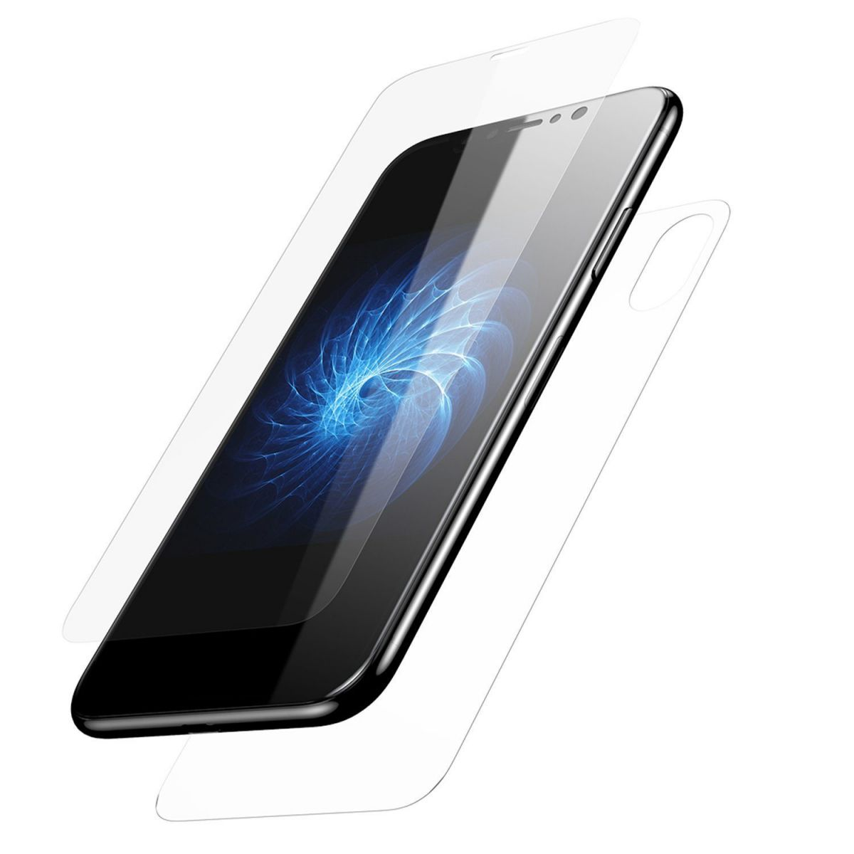 Devia Entire view tempered glass iPhone XS/X(5.8)..