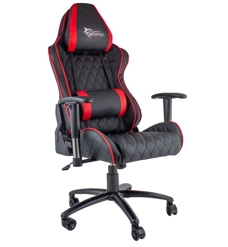 White Shark Gaming Chair Pro Racer Y-2621 black/r..