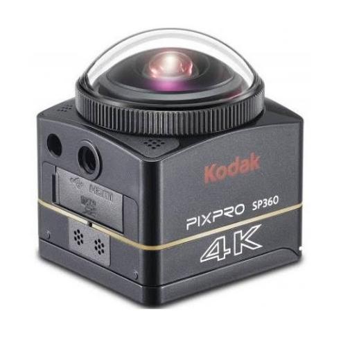 Kodak SP360 4k Extrem Kit Black