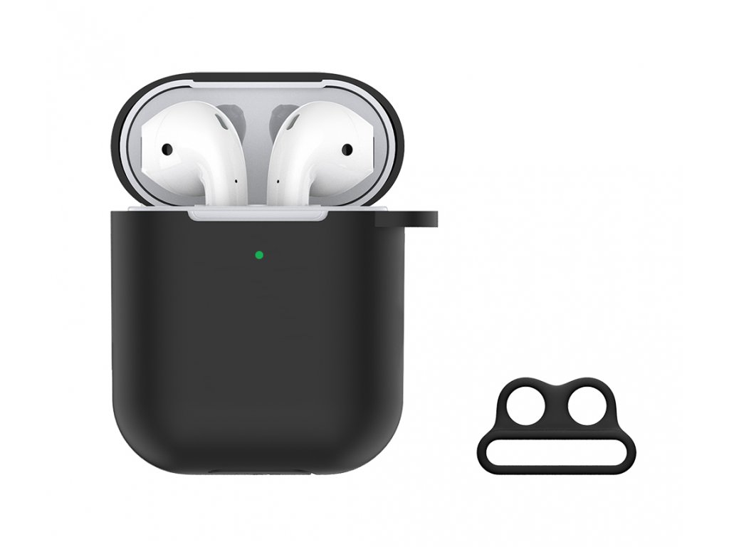 Devia Naked Silicone Case Suit for AirPods (with ..