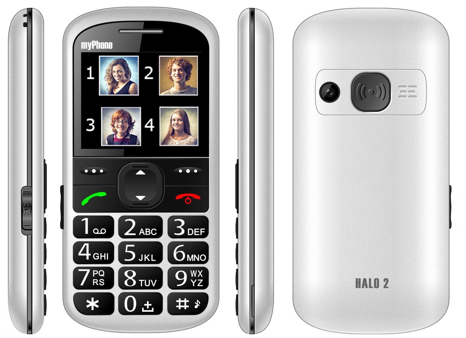 MyPhone HALO 2 white (damaged box)