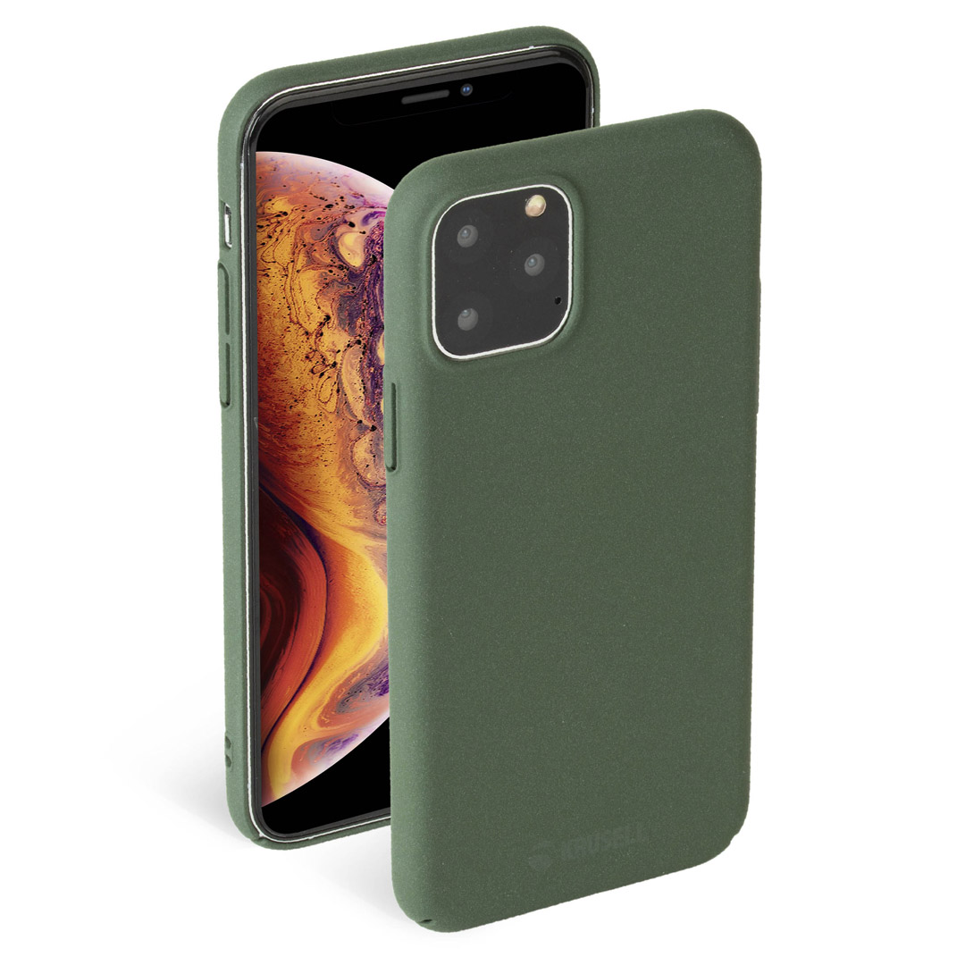 Krusell Sandby Cover iPhone 11 Pro Max moss
