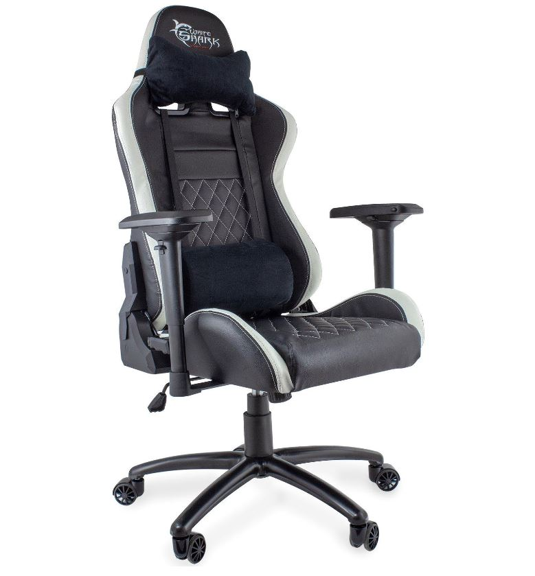 White Shark Gaming Chair Nitro GT Y-2655 black/wh..