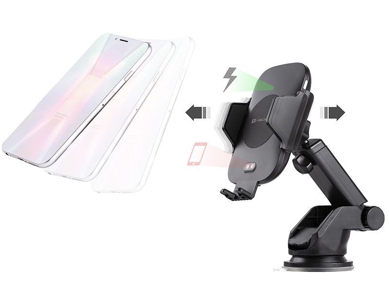Tracer Car Mount With 10W Wireless Charger Automa..