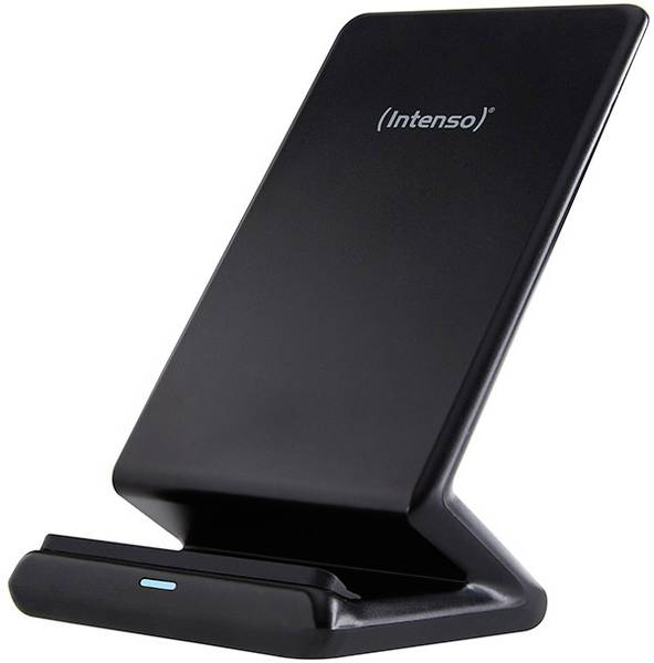 Intenso Whireless Charger Stand with Adapter blac..