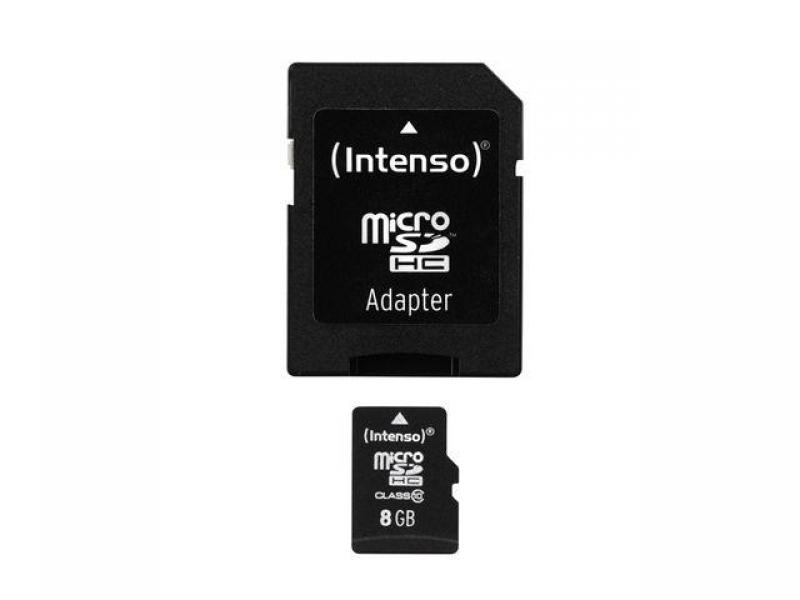 Intenso Micro SDHC 8GB Class10 3413460