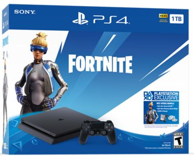 Sony Playstation 4 Slim 500GB (PS4) Black Fortnit..