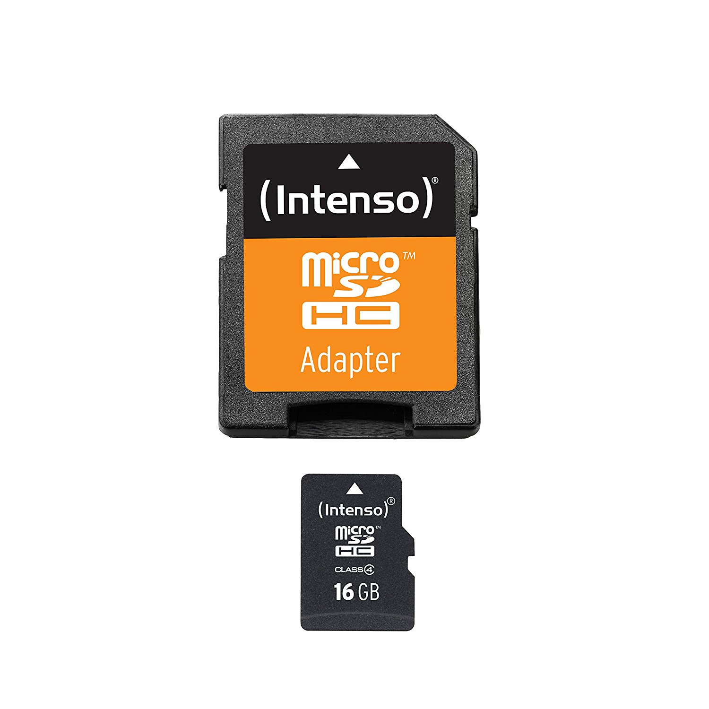 Intenso Micro SDHC 16GB Class4 3403470