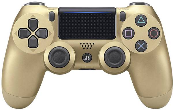 Sony Dualshock4 V2 Wireless Controller gold