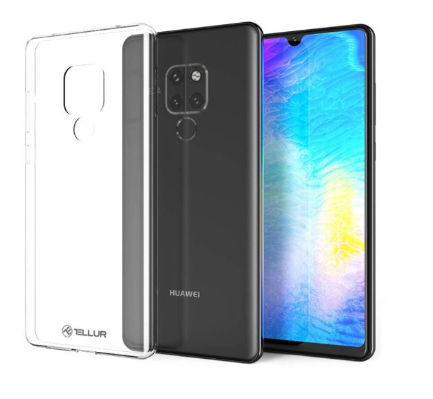 Tellur Cover Silicone for Huawei Mate 20 transpar..