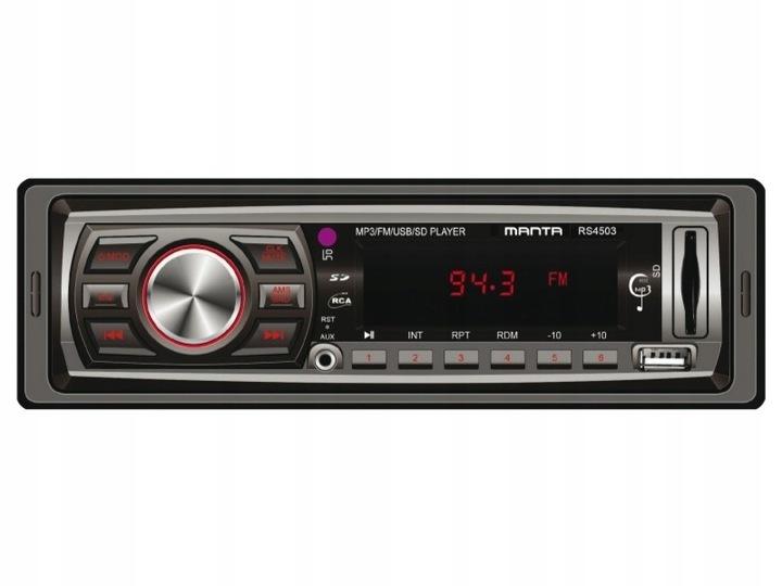 Manta RS4503 MP3 Ontario