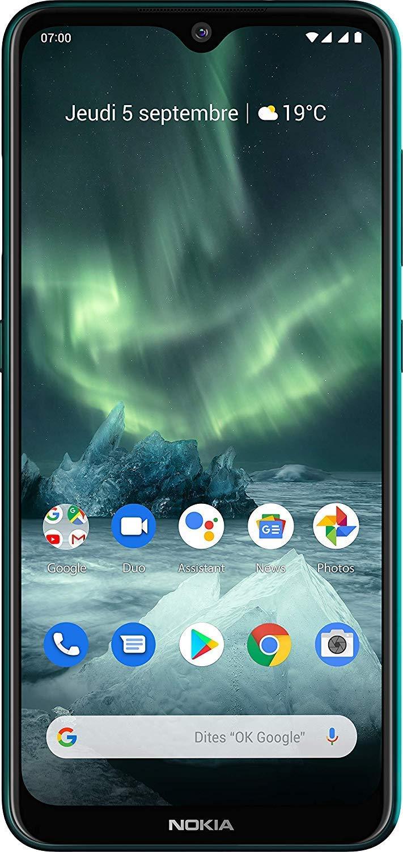 Nokia 7.2 Dual 64GB cyan green