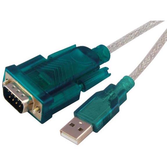 Sbox USB A M.-> RS-232 M. - 2M USB-RS232