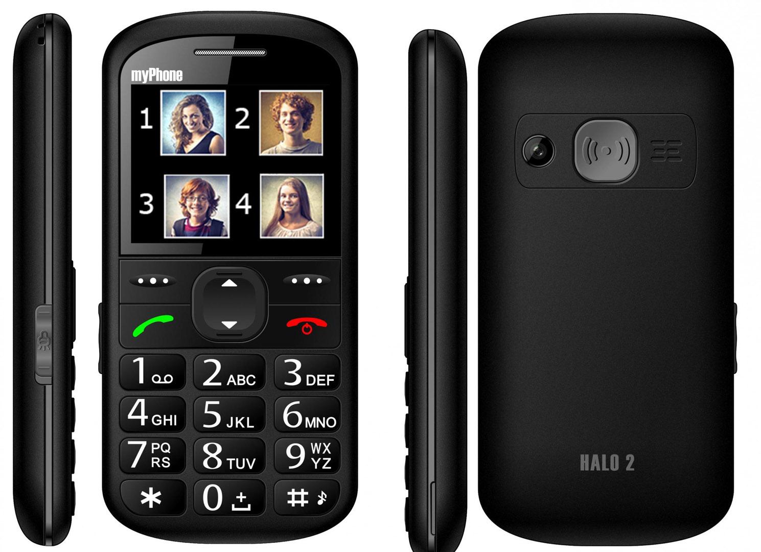 MyPhone HALO 2 black (damaged box)