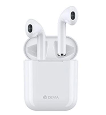 Devia TWS wireless earphone (V6) white