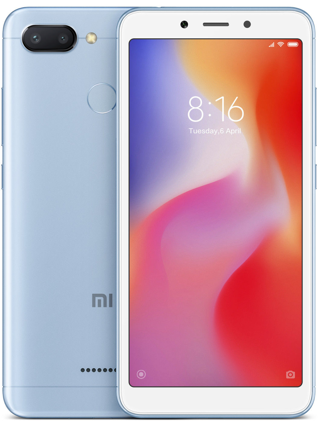 Xiaomi Redmi 6 Dual 3+32GB blue - USED