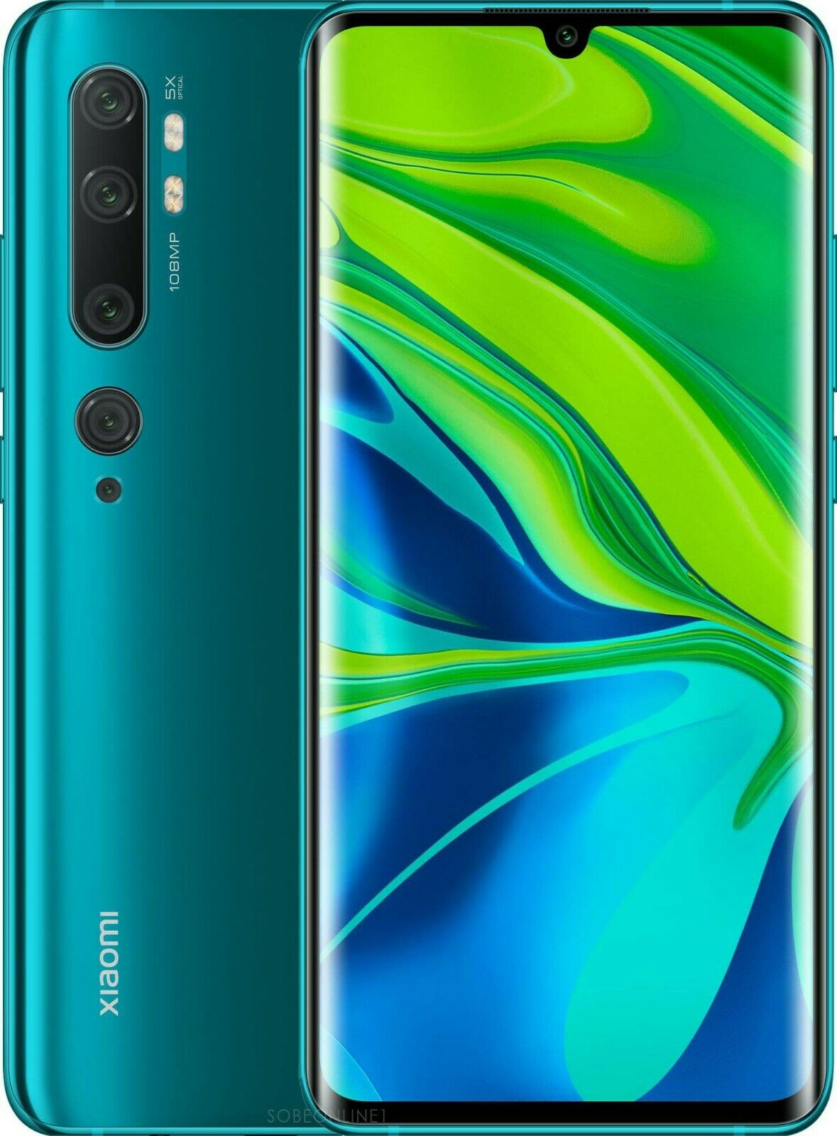 Xiaomi Mi Note 10 Dual 6+128GB aurora green