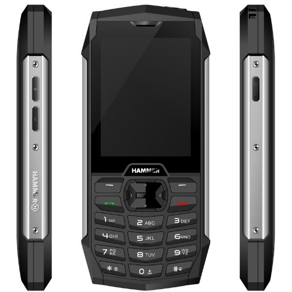 MyPhone Hammer 4+ Dual silver